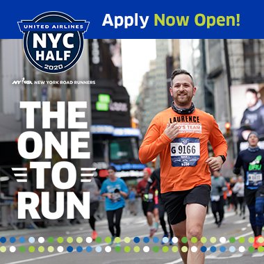 United Airlines NYC Half Apply for 2020