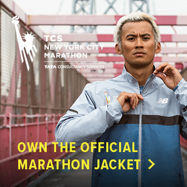 Own the official TCS New York City Marathon jacket