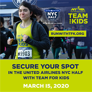 Run the United Airlines NYC Half with Team for Kids