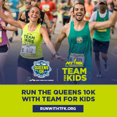 Run the Queens 10K with Team for Kids