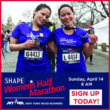 Shape Women's Half Marathon Ad