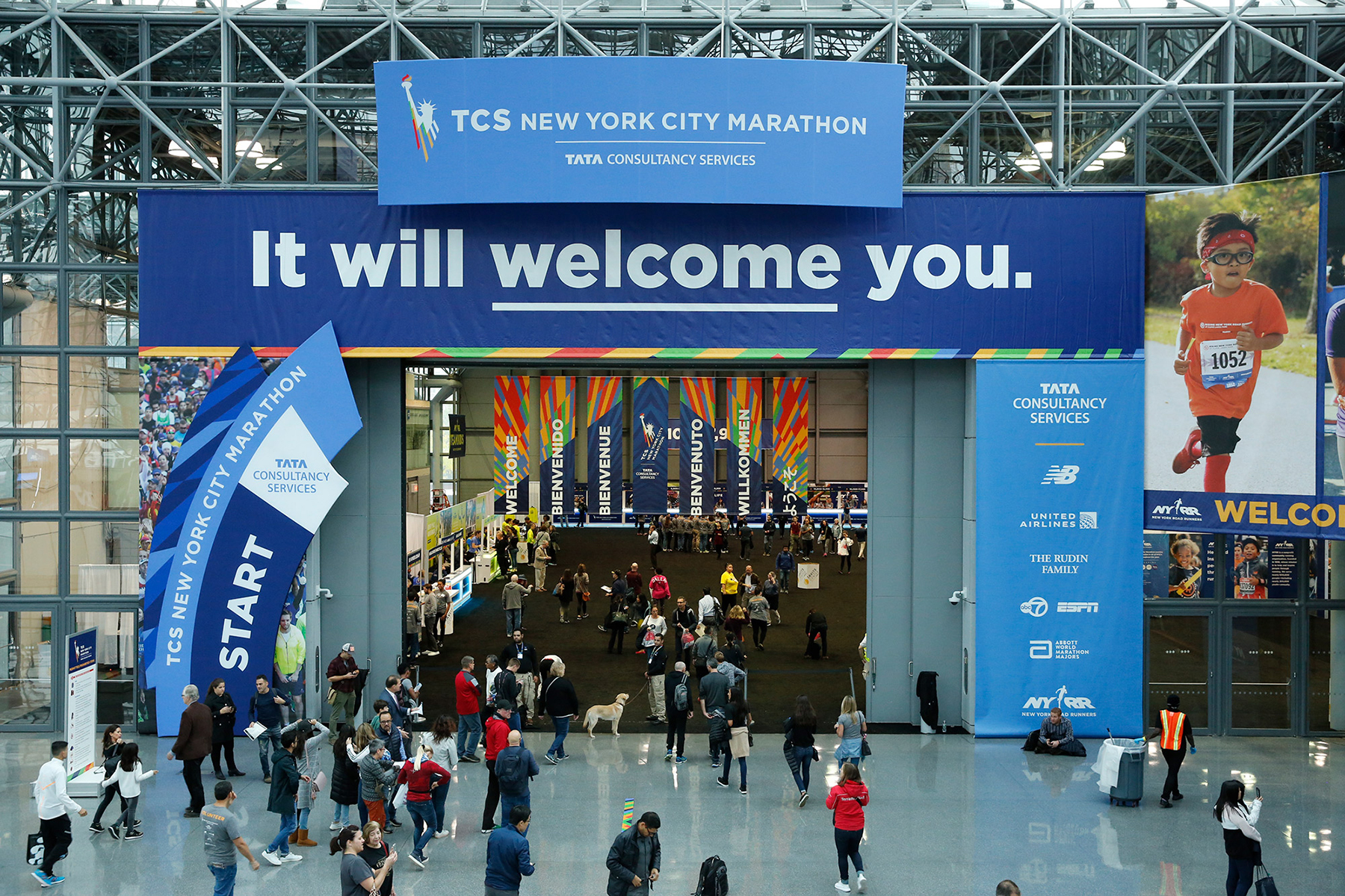 TCS New York City Marathon Expo Presented by New Balance