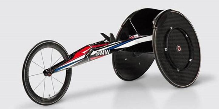 A pushrim wheelchair