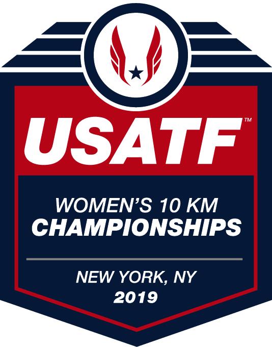 2019 USATF 10K Championships logo