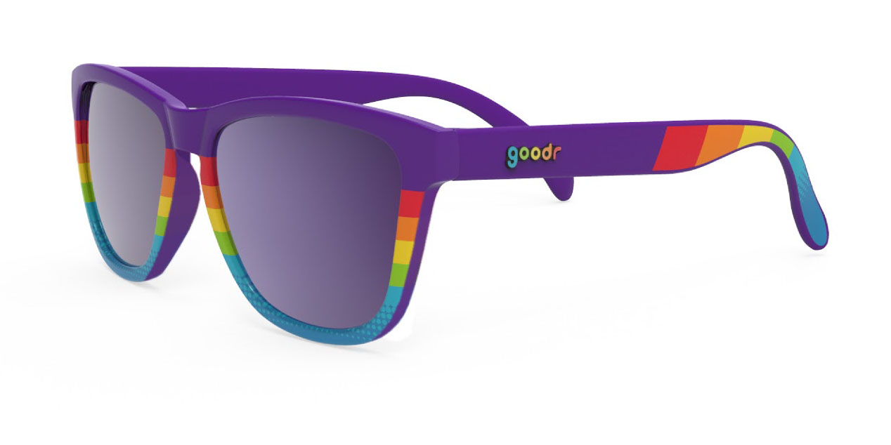 Limited edition Pride Goodr sunglasses