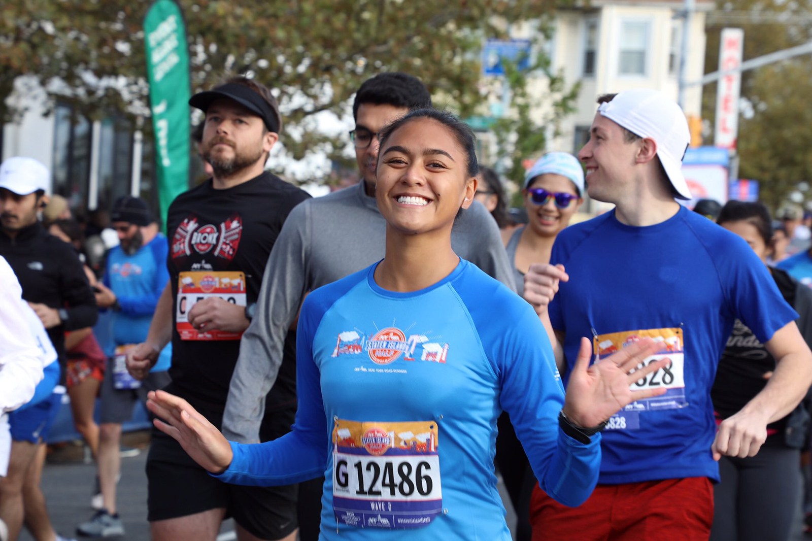 Smiles all around at the 2019 NYRR Staten Island Half