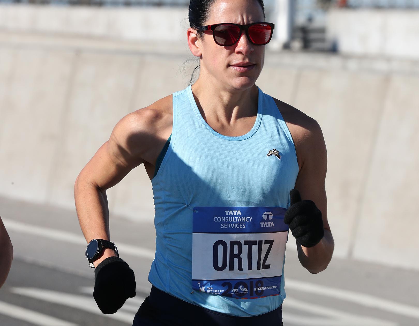 Angela Ortiz 2018 TCS New York City Marathon