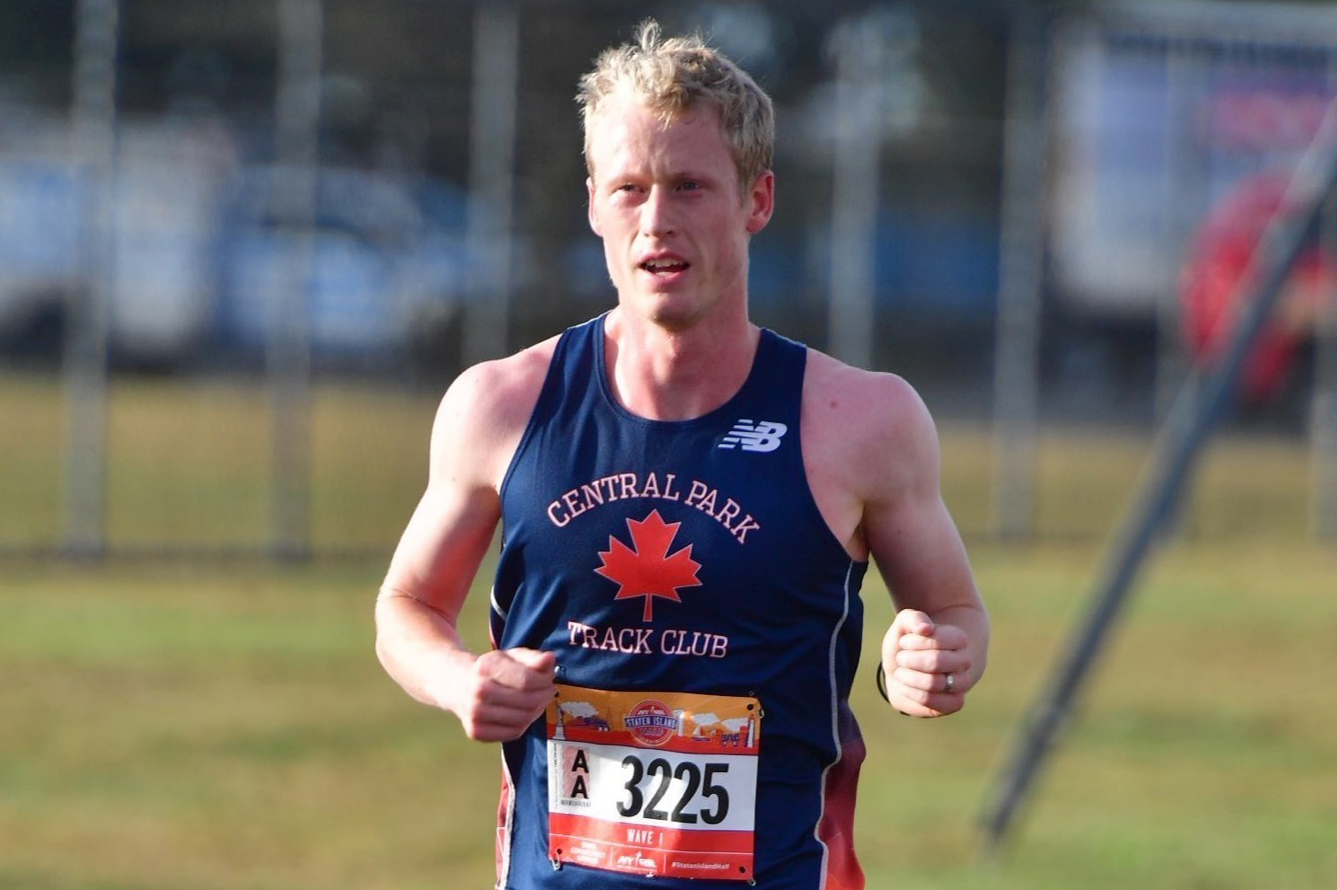 Runner Matt Rand at 2019 NYRR Staten Island Half
