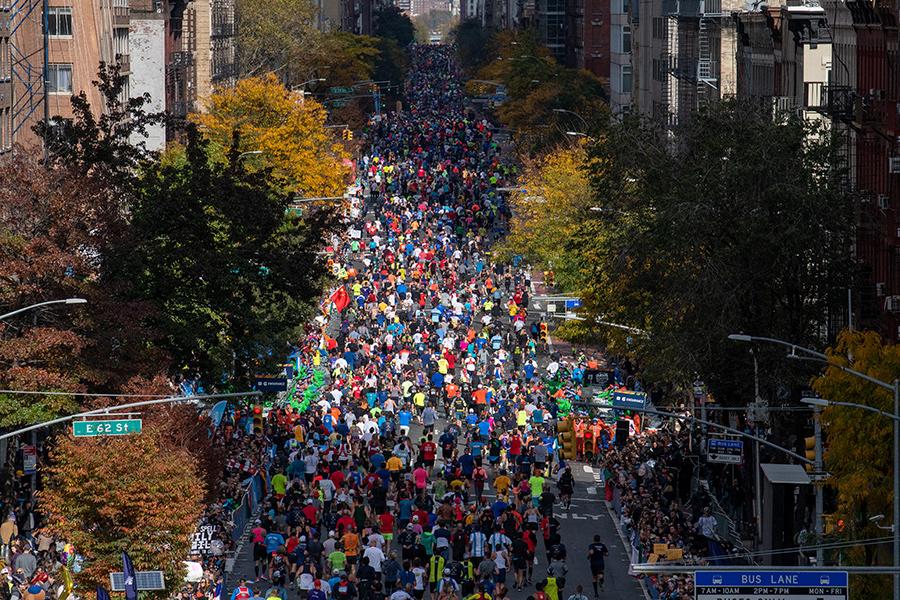 2019 TCS New York City Marathon First Avenue