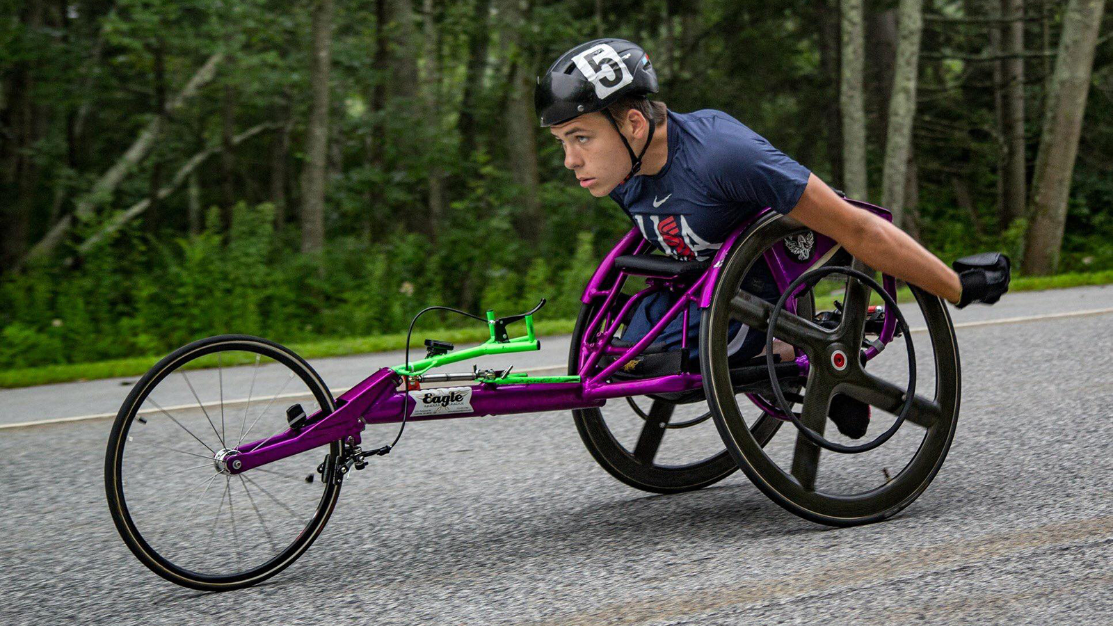 Wheelchair athlete Jason Robinson
