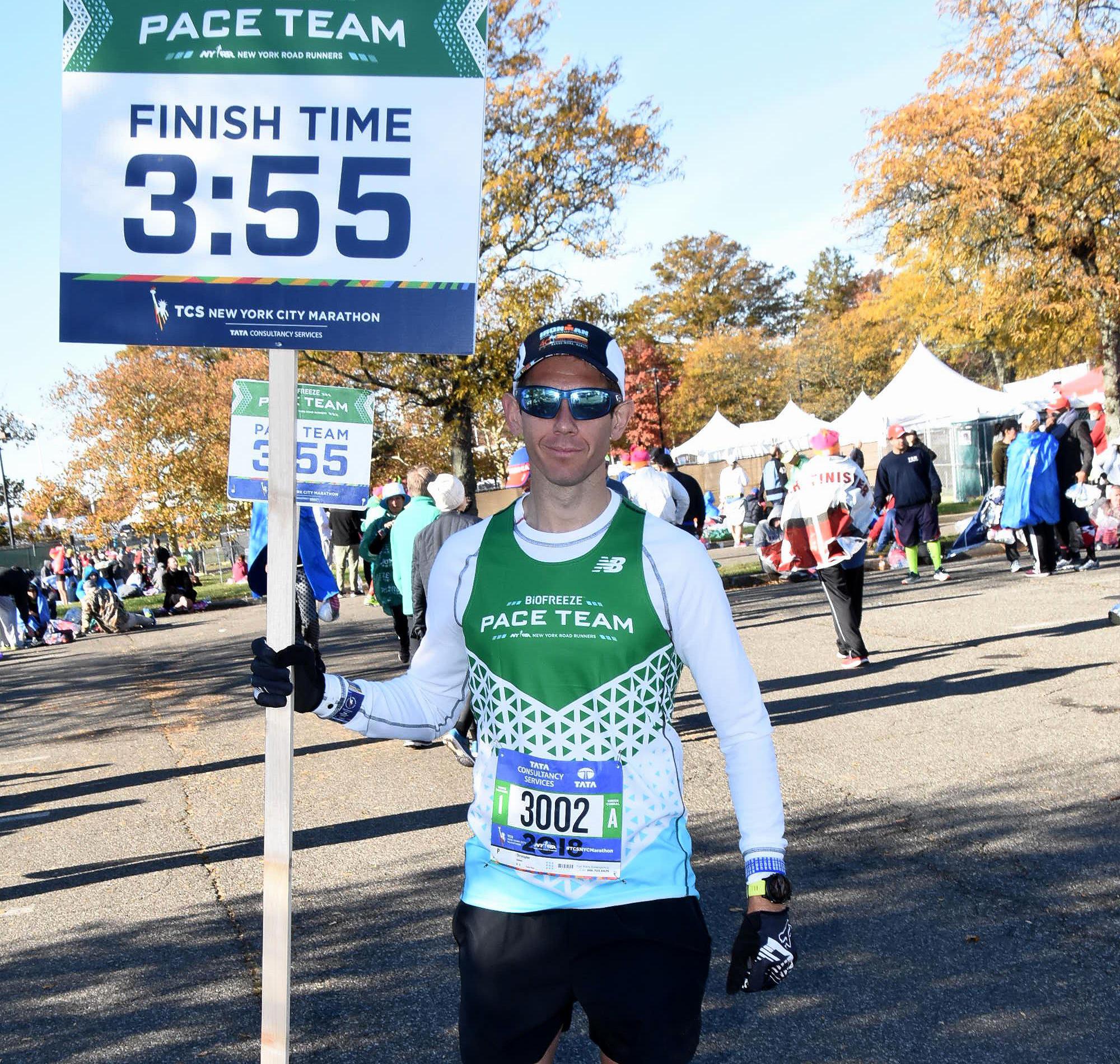 Pace Team member Chris Calimano