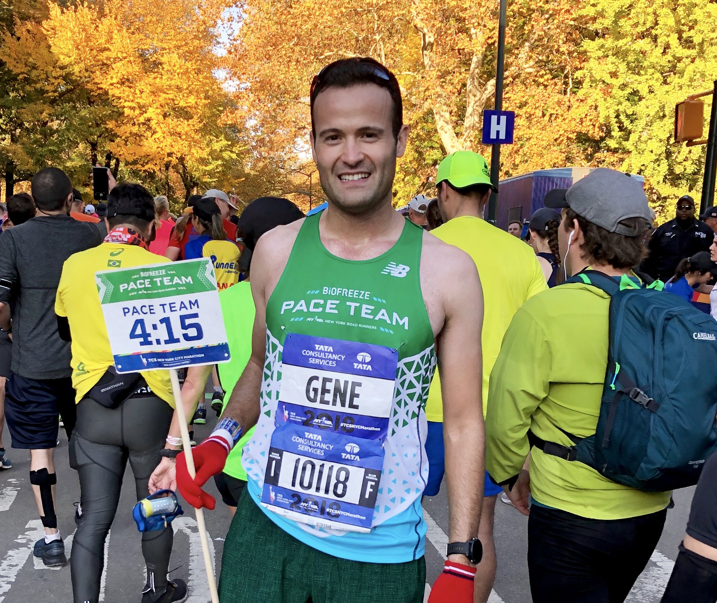 Pace team member Gene Sobol