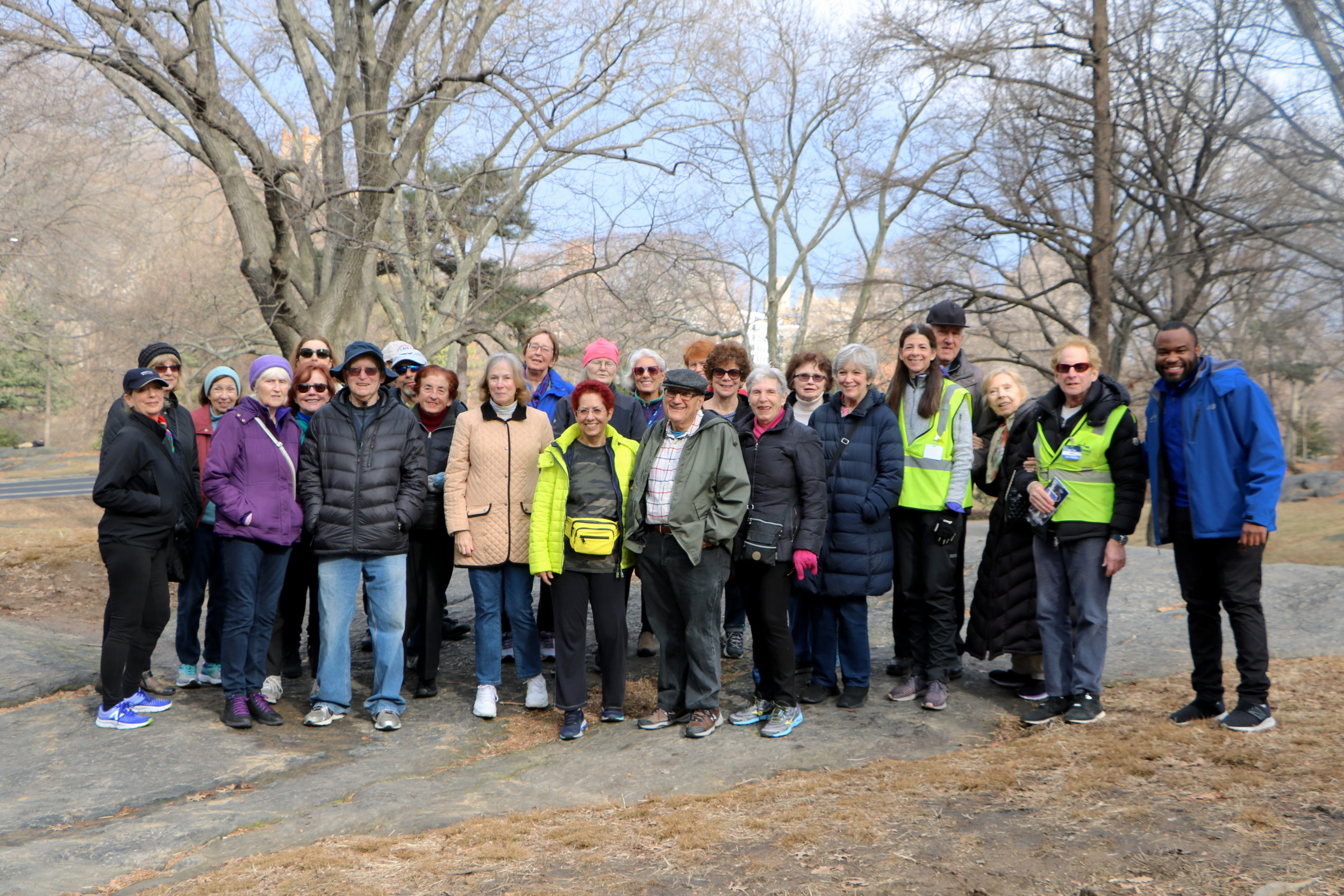Group Photos of NYRR Volunteers