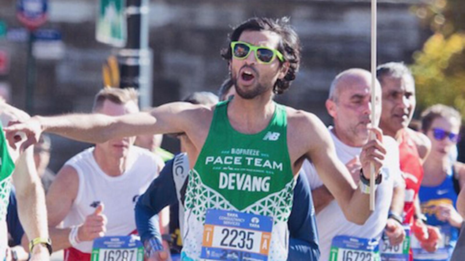 NYRR Pace Team member Devang Patel