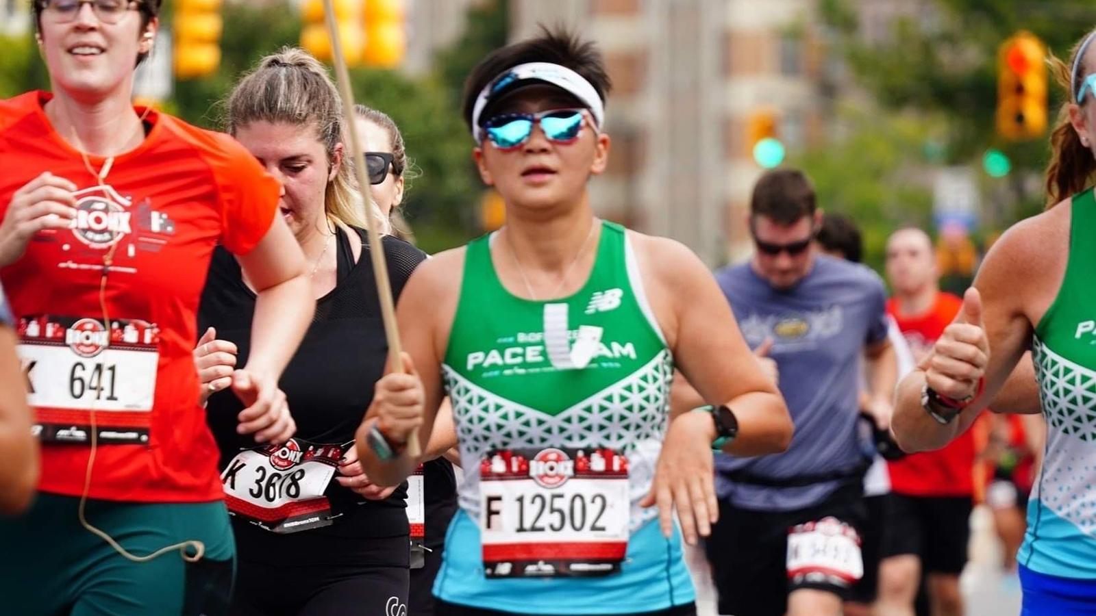NYRR Pace Team member Louisa Lam