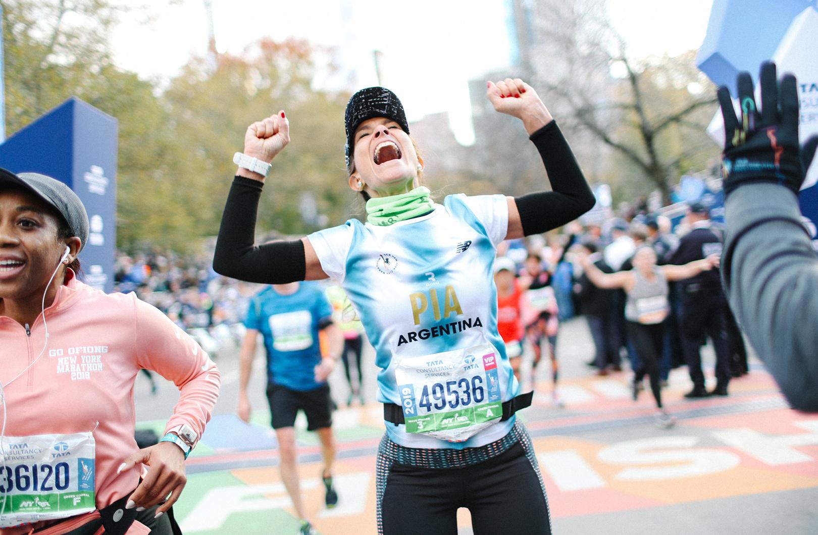 2019 TCS New York City Marathon finisher from Argentina