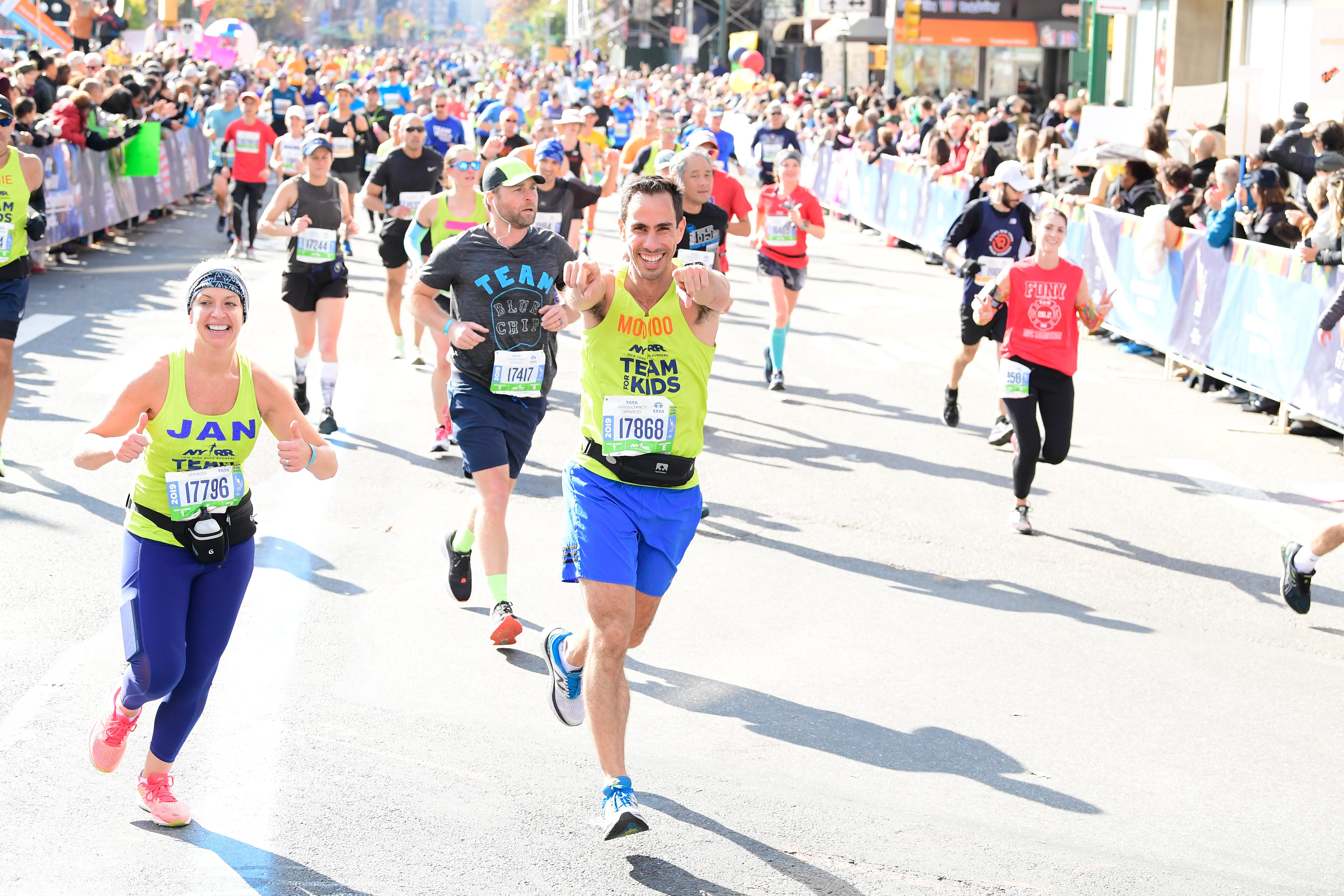NYRR Team for Kids runners 2019 TCS New York City Marathon