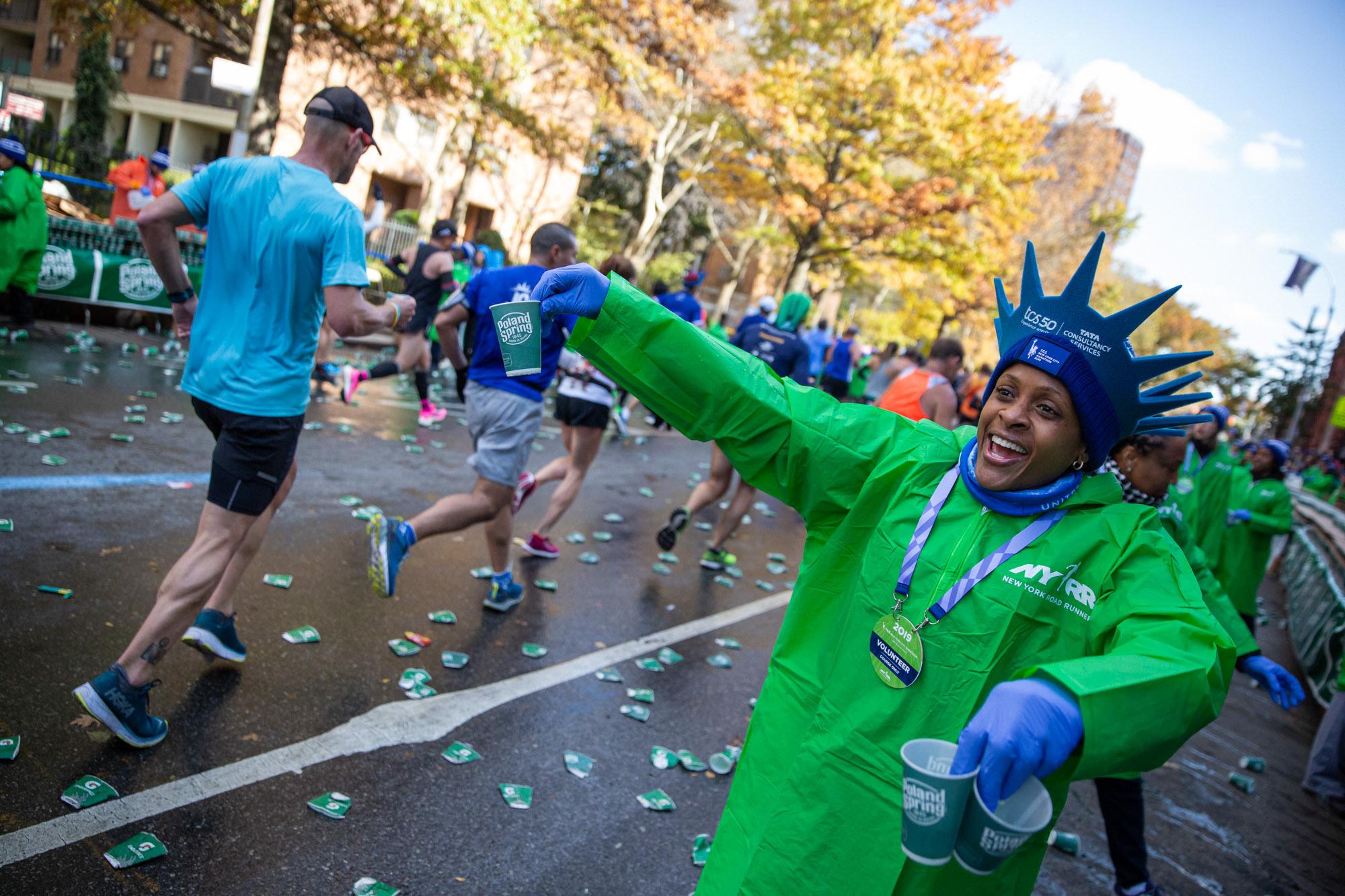 Volunteer at 2019 TCS New York City Marathon