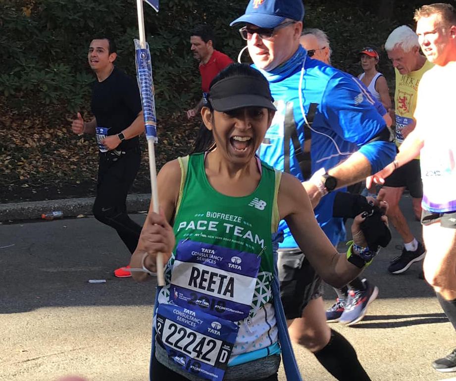 Pace Team member Reeta Barthwal