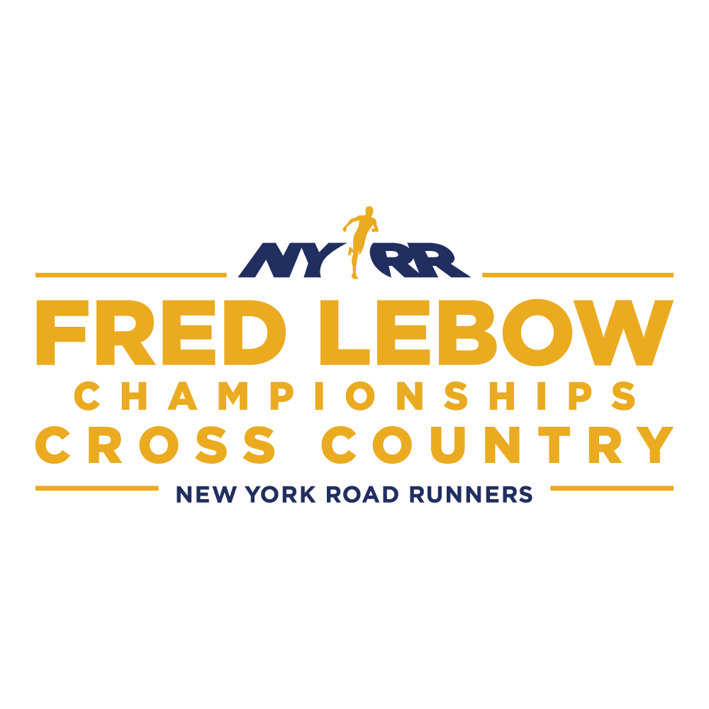 Logotipo de NYRR Fred Lebow Cross Country Championships