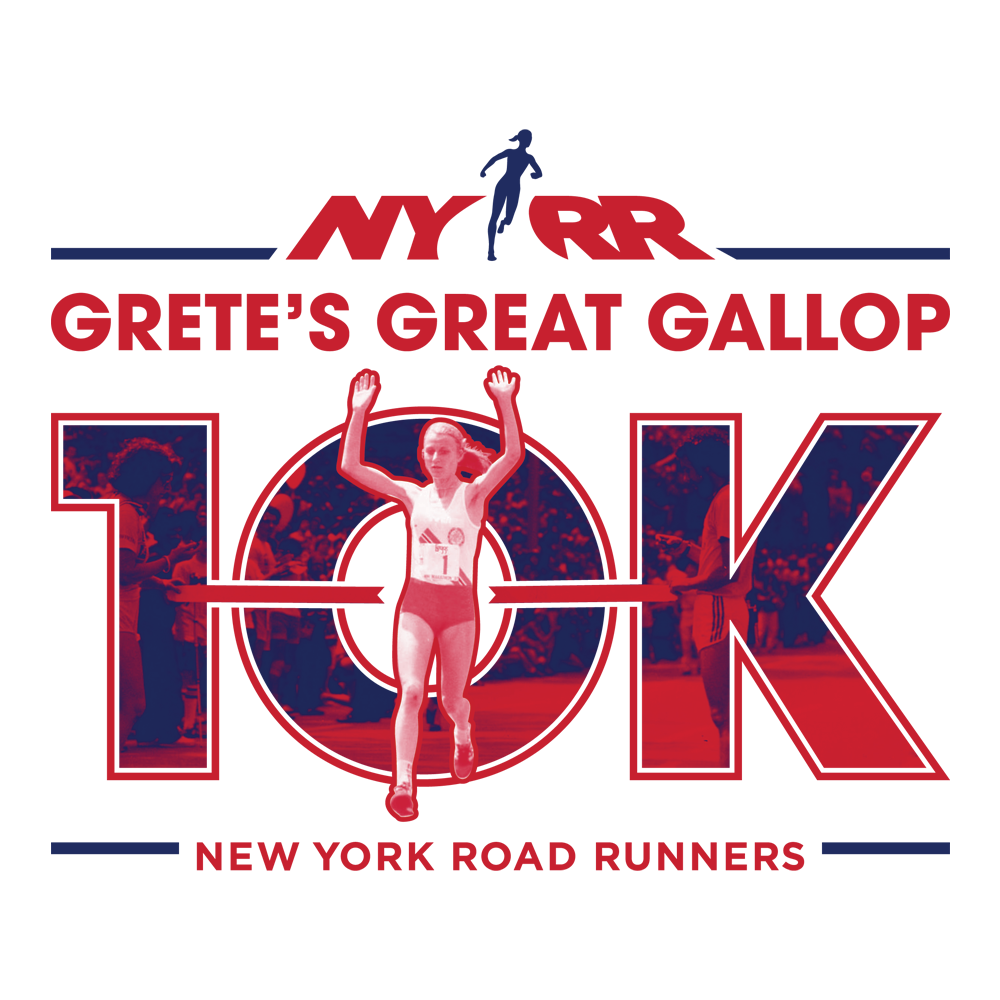 NYRR Grete's Great Gallop logo