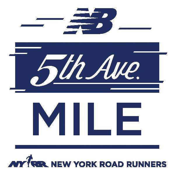 New Balance 5th Avenue Mile logo