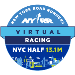 Virtual Racing NYC Half 13.1 Logo