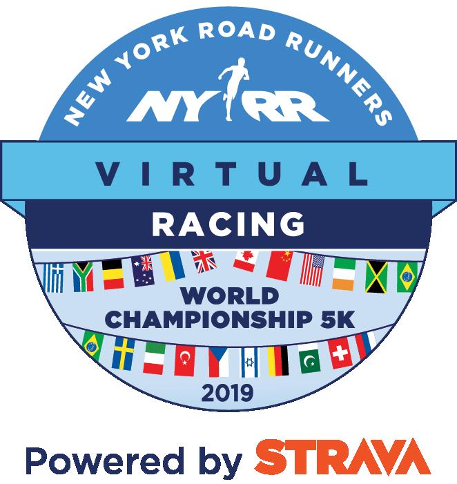 NYRR Virtual World Championship 5K logo