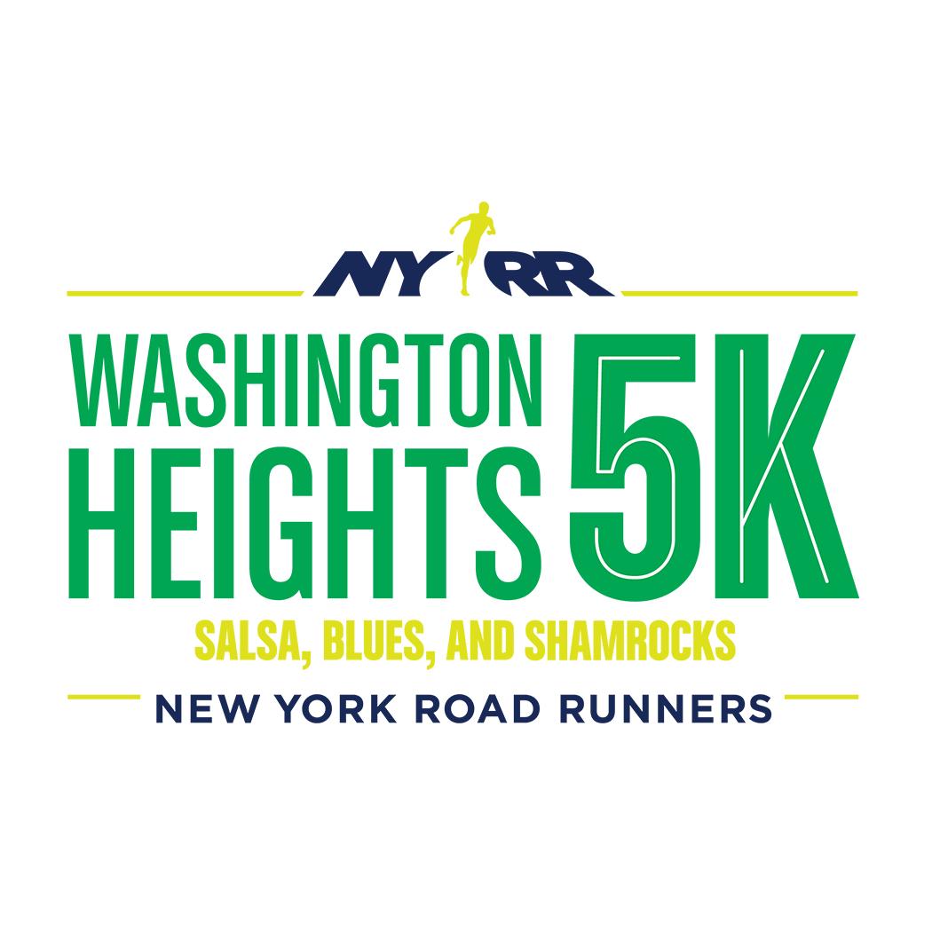 NYRR Washington Heights 5K race logo