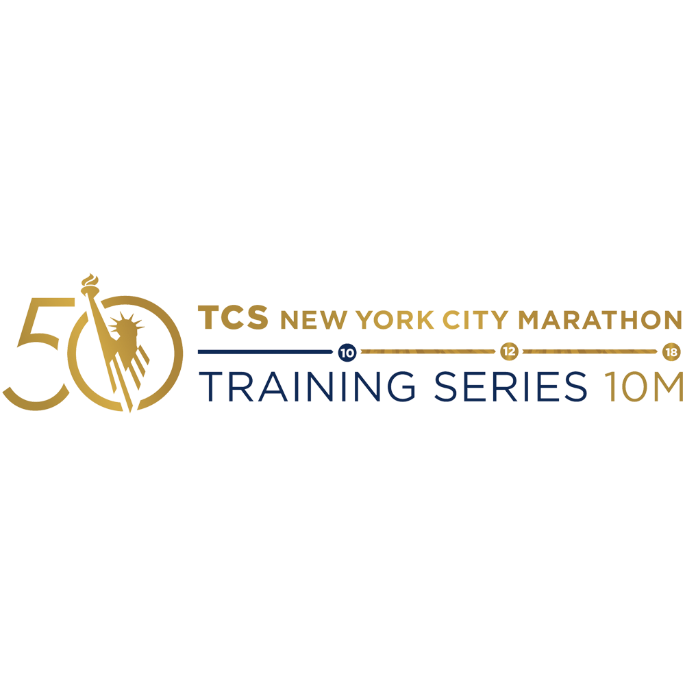 Logotipo de TCS New York City Marathon Training Series 10M