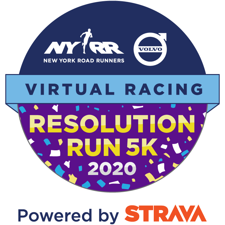 NYRR Virtual Resolution Run 5K 2020 logo