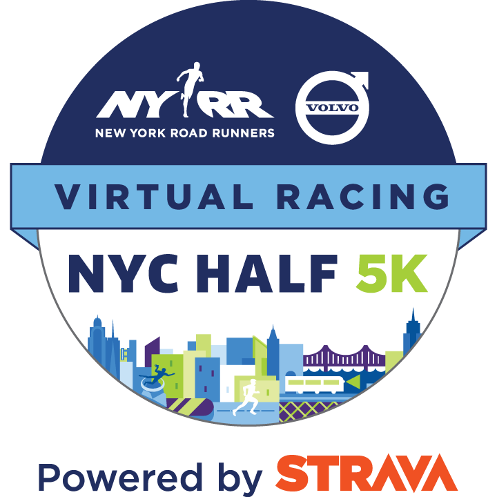 Logotipo de la NYRR Virtual NYC Half 5K