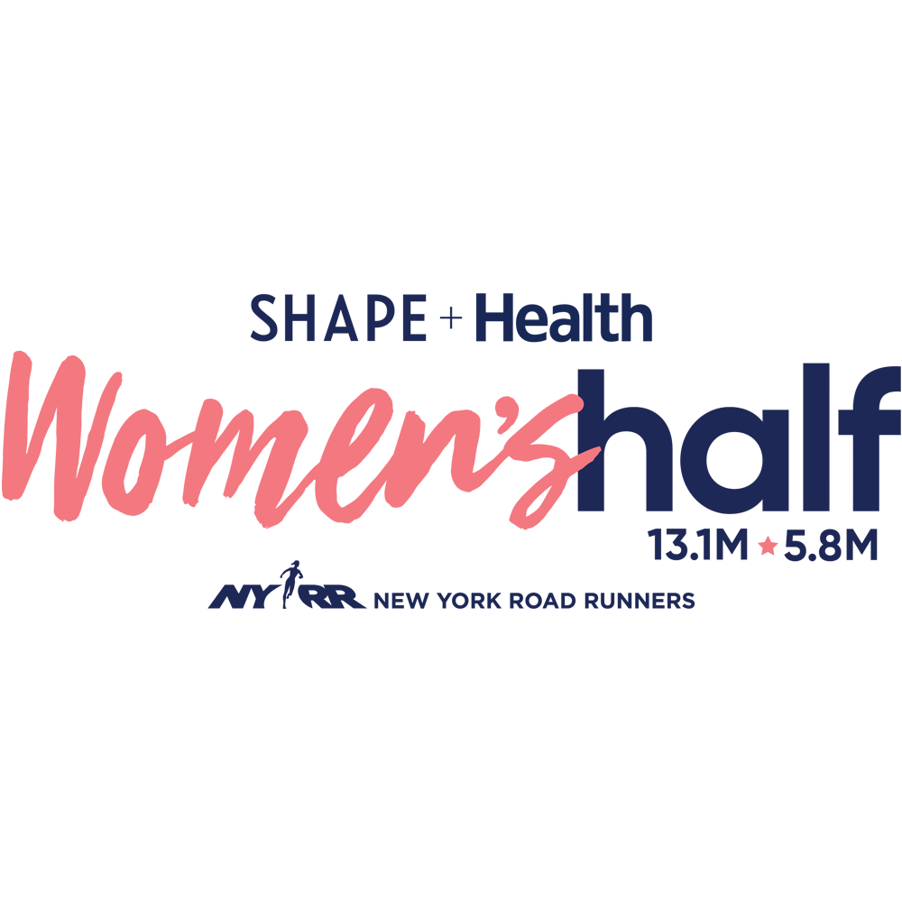 Logotipo de la SHAPE Health Women's Half Marathon
